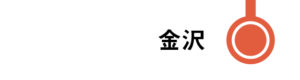 金沢はすべてのはくたかが停車します。